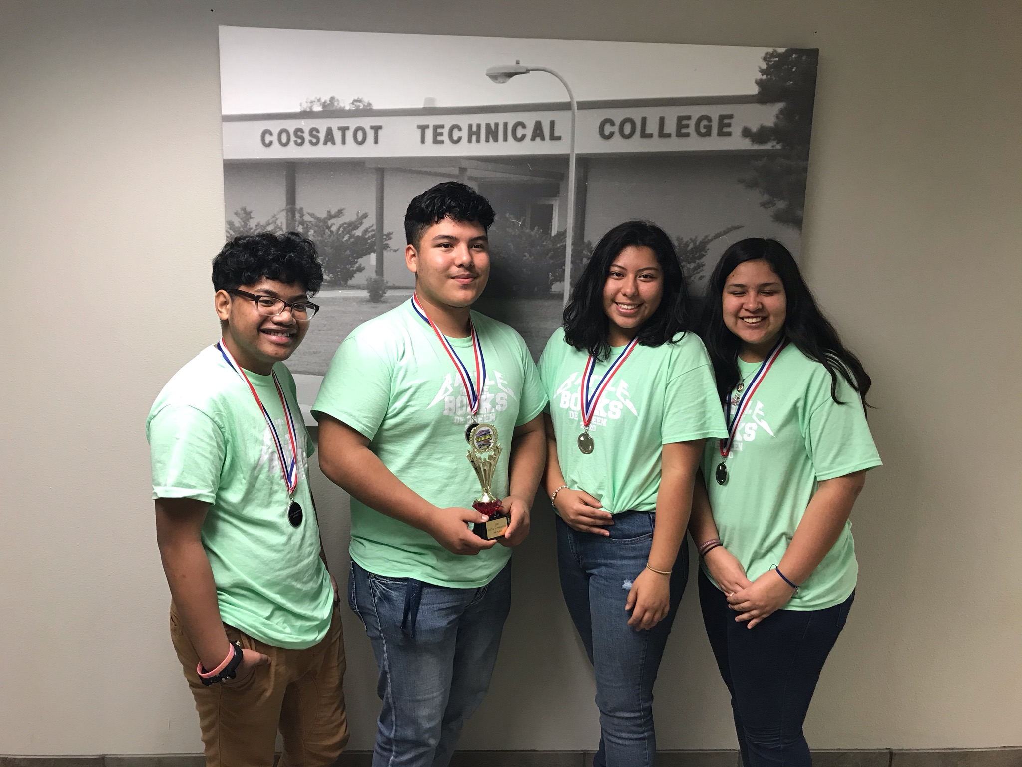 Team members (in no particular order): Romeo Timothy, Jafet Sotelo, Brittany Hernandez, Litzi Flores