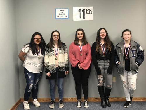 Pictured – NOT IN ANY ORDER:  FICTION: 1ST SHYLEE HEAD, MENA; 2ND LULU QUEBEDEAUX, ACORN; 3RD VICTORIA VALLEE & TYRA FOX, DIERKS  TECHNOLOGY: 1ST YESSICA VASQUEZ, CRHS