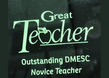 DMESC Outstanding Novice Teachers Recognized