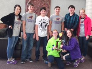 2018 Jr High Quiz Bowl Ashdown Jr High 2nd Place