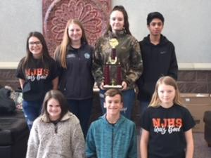 2018 Jr High Quiz Bowl Nashville Jr High 1st Place