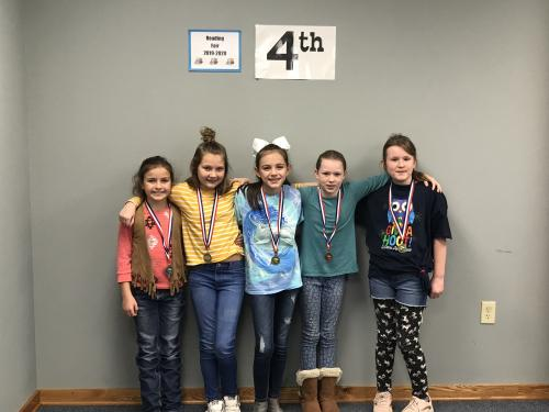 Pictured – NOT IN ANY ORDER:  FICTION: 1ST KEELI PARTEE, UMPIRE; 2ND PAISLEY BURGER, ACORN; 3RD SHELBY RUSERT, ACORN  NONFICTION: 1ST ADALYN BOHLMAN, ACORN  TECHNOLOGY: 1ST JACEE WHITE, ACORN