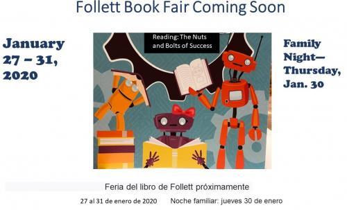 Follett Book Fair Coming Soon