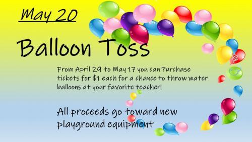 Balloon Toss info