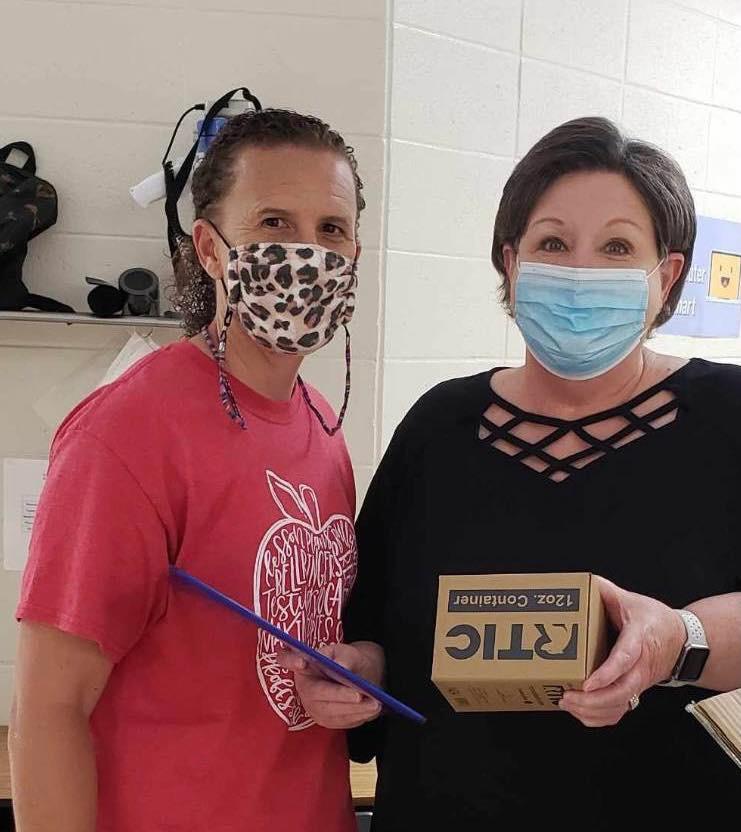 We've had a great Teacher Appreciation Week.