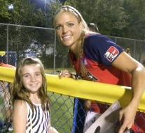 Rylie and Jennie Finch