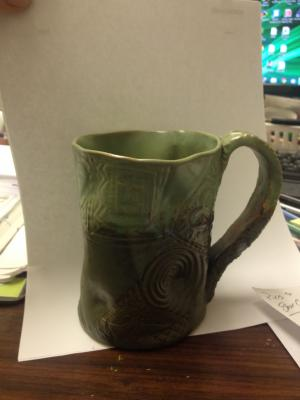 funky mug!