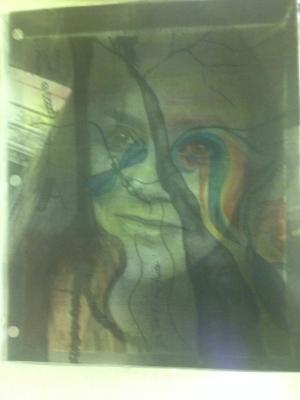 Mrs. Caudle's Window Portrait