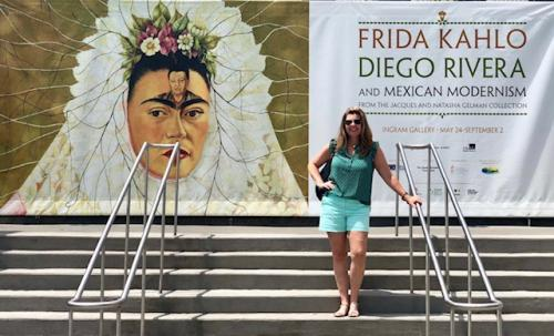 Frida Kahlo art exhibit
