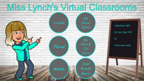 Miss Lynch's Virtual Classroom link