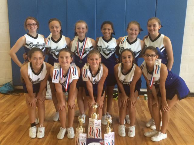 Paul Pewitt Junior High School - Cheerleading
