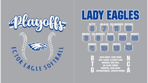 2021 Softball Playoff shirt