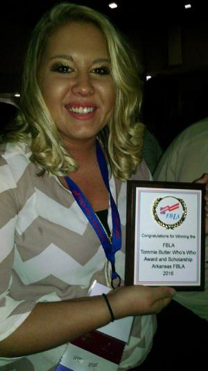 Star Martin - Who's Who in FBLA - Highest Honors