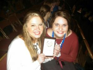 Star Martin and Tatum King Placed Second at the Arkansas State FBLA Conference