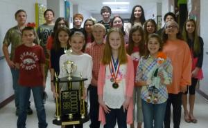 NWARSEF 2016 Mid-Division Science Fair Champion School