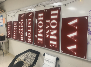 EAST designed and printed new signage for the gym.