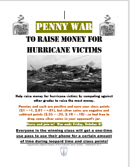 Penny War Flyer