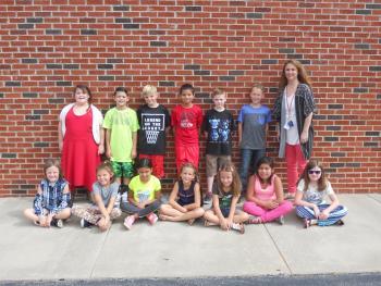 Mrs. Ivey's 3rd Grade Class