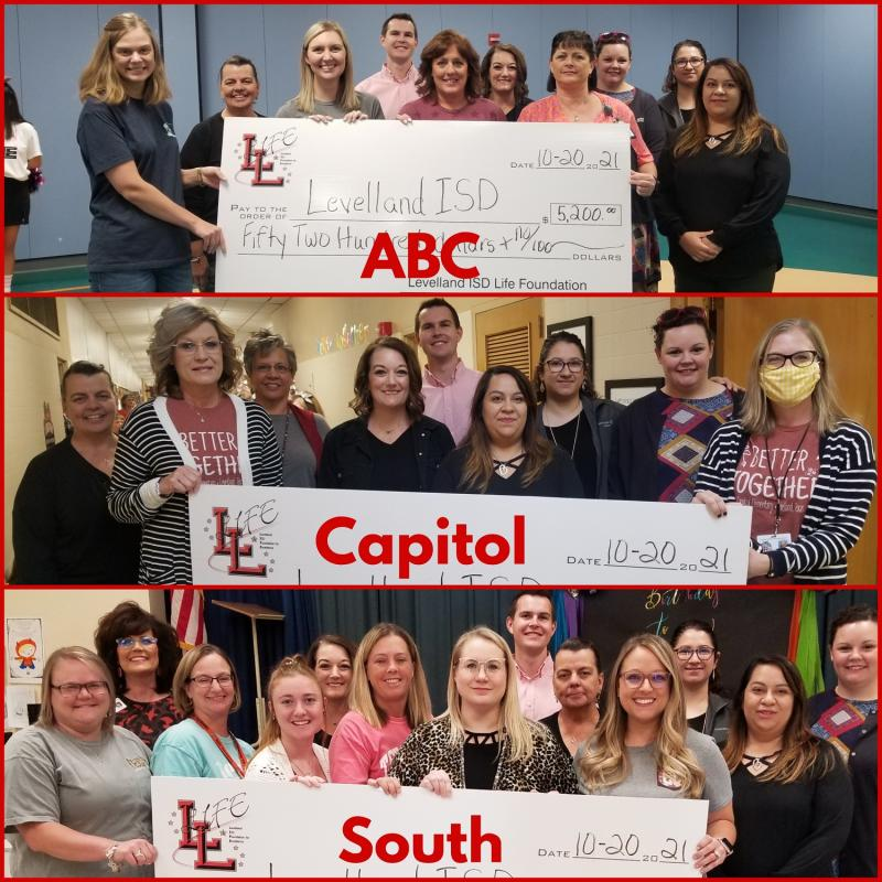 $5,200 in LIFE Grants Received