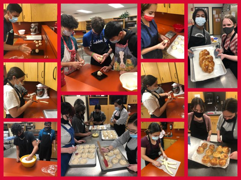 CTE Month: Food Science Class Bakes Bread