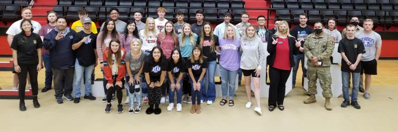 College Signing Day for other Colleges
