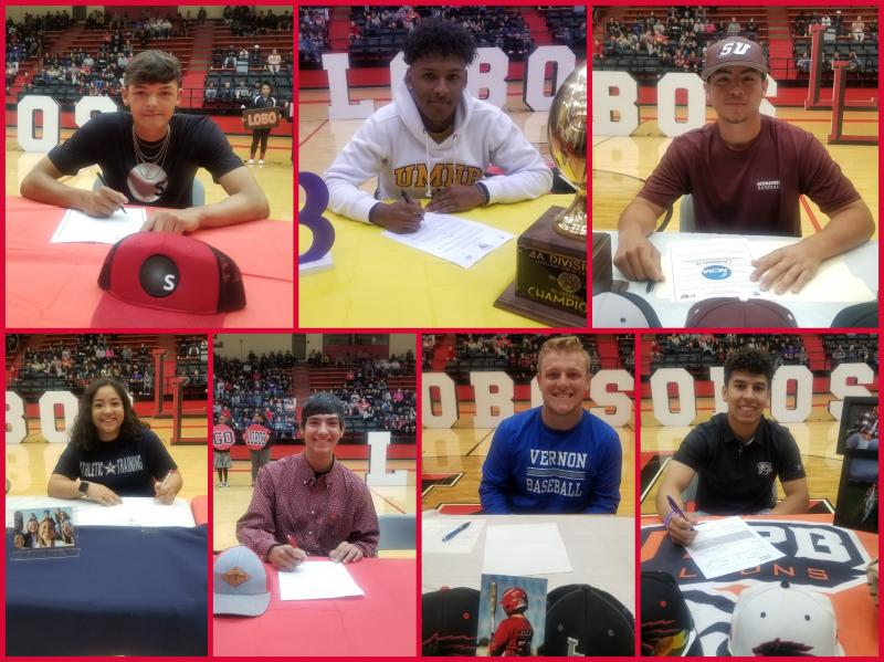 7 Students Sign Today