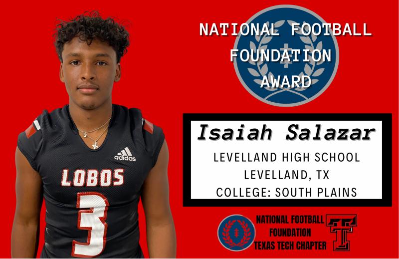 Salazar Earns Scholarship
