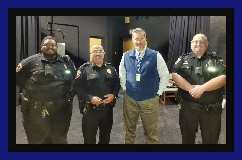 Police Present at LHS