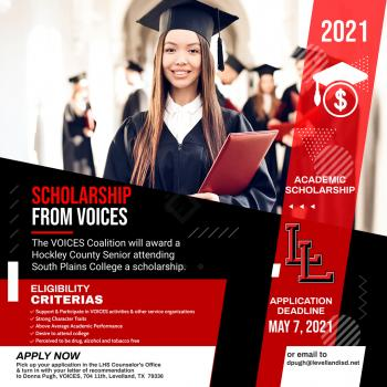 VOICES Scholarship!