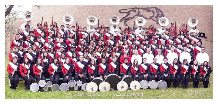 Lobo Band Group Photo 17-18