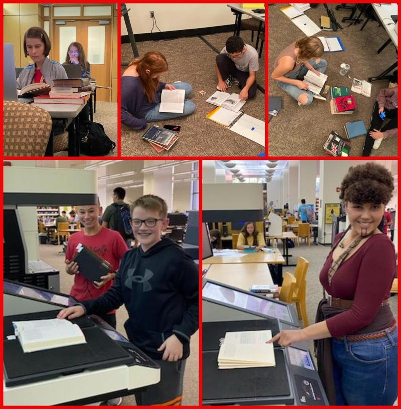 NHD Students Start Research