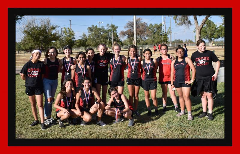 LMS Cross Country Girls are District Champs