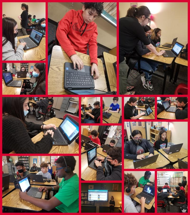 LMS Students Connect Around the World