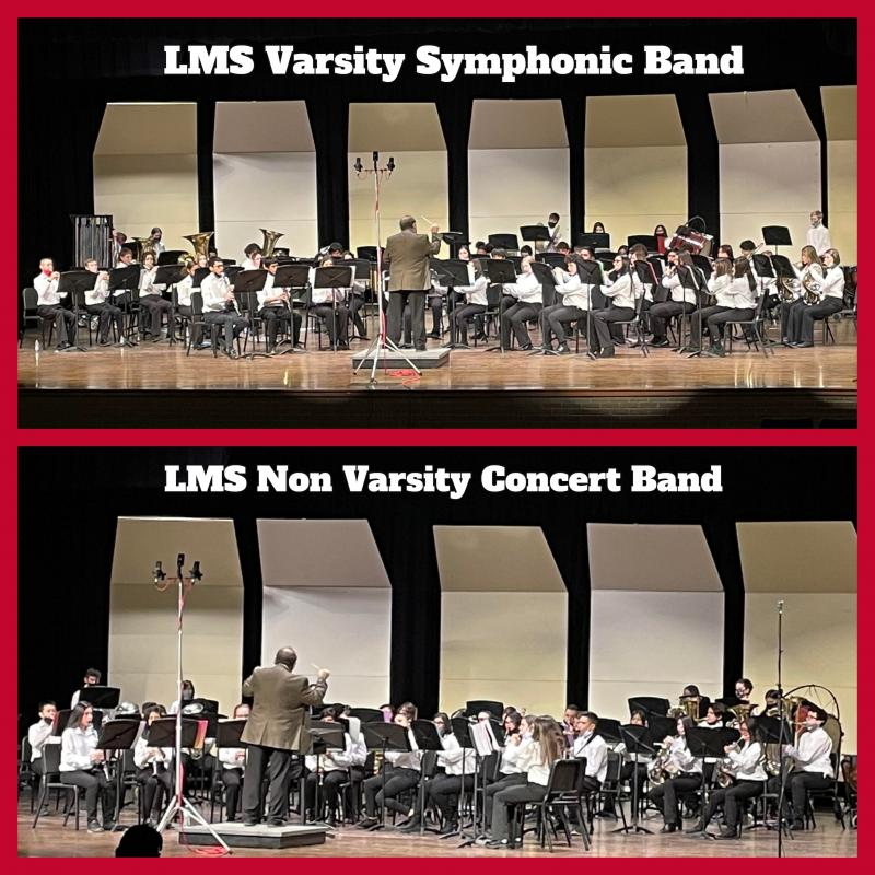 LMS Bands Prepare for UIL Competition