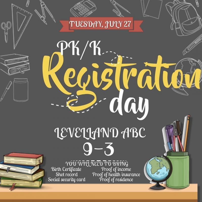 ABC PK/K Registration