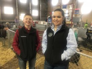 Logan Williams and Elizabeth Arnold at the 2019 Ft. Worth Open Gilt Show