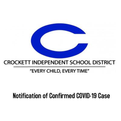 Notification of Confirmed COVID-19 Case