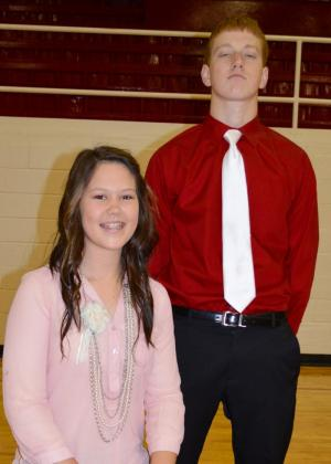 Victoria Madison Hodges and Ethan Bishop