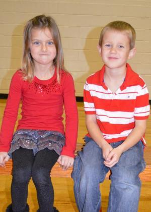 Addison Shelton and Camden Burnett