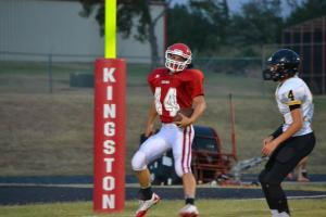 8th/9th FB v Madill  #44 Brandon Conner