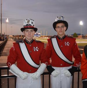 Oologah Marching Contest: Hunter Fletcher & Austin Stottlemyre