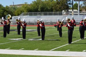 Oct 2013 Band at OSSAA in Lawton