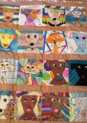 6th grade quilt