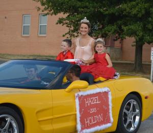 Football Homecoming Parade