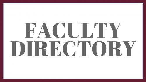 Link to the faculty directory.