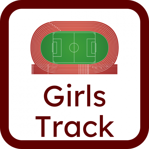 Girls track icon