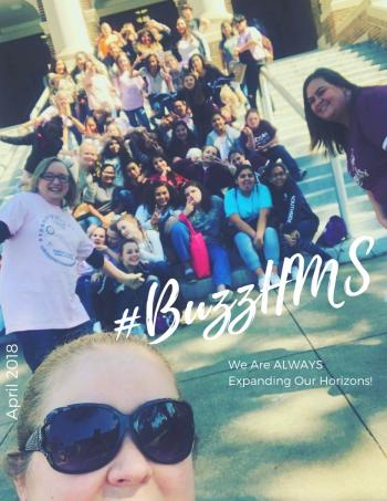 April 2018 #buzzhms Magazine