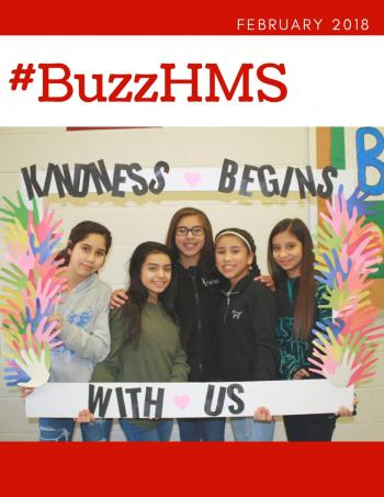 February Issue of #Buzzhms Magazine