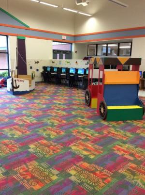 Our reading centers for students,