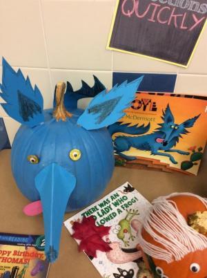 Coyote pumpkin!